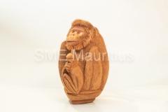 FC103-Monkey-with-babies-Fernando-Coco-Craft-Mrs-Tarunee-Palamandadige-Tel-52526039-fernandocococraft@yahoo.com-