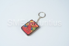 FD008-Keyring-Rectangle-Painted-Atelier-Artisanal-Mauricien-Mr-Dit-Sylva-France-Antoine-Tel-57218740-